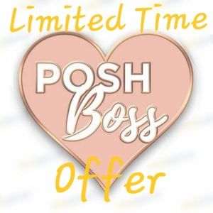 Firm price! Only 10 pins. Lapel Pin Posh Boss.